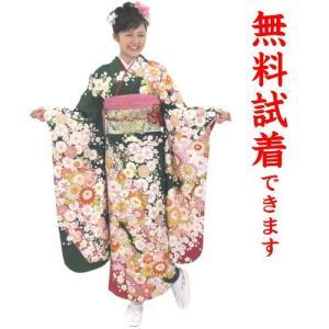 振袖レンタル M−003番 22点フルセットレンタル 往復送料無料|kimono-world