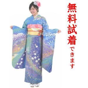 振袖レンタル M−006番 22点フルセットレンタル 往復送料無料|kimono-world