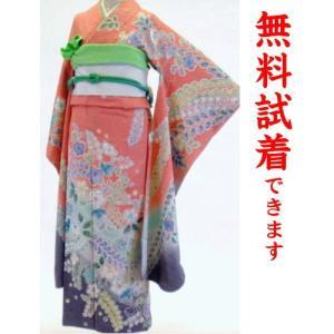 振袖レンタル M−011番 22点フルセットレンタル 往復送料無料|kimono-world
