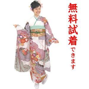 もりはなえ 振袖レンタル M−015番 22点フルセットレンタル 往復送料無料|kimono-world