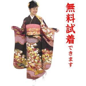 振袖レンタル M−018番 22点フルセットレンタル 往復送料無料|kimono-world