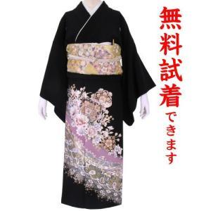 黒留袖レンタル 059番 20点フルセットレンタル 往復送料無料 【kum】|kimono-world