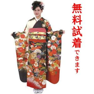 IKKO 振袖レンタル L−450番 フルセットレンタル 成人式 髪飾り 往復送料無料|kimono-world