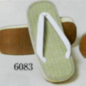 男雪駄 いぐさ表LLサイズスポンジ底足のサイズ27.5センチまでの方対応