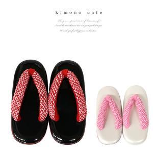 七五三 草履 総絞り正絹鼻緒 小物 着物 赤 ピンク 女児 子供 753 三歳 七歳 当店オリジナル商品