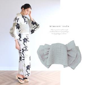 浴衣 セット 2点セット ぼかし黒百合 麻 兵児帯 浴衣セット kimonocafe フリーサイズ Sサイズ ワイドサイズ TLサイズ|kimonocafe-y