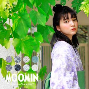 MOOMIN ムーミン レディース浴衣 Sサイズ Mサイズ Lサイズ 綿 単品 北欧 ナチュラル 可愛い レトロ kimonocafe-y