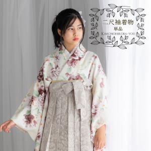 2020新作 Raffine mocha ラフィネモカ 二尺袖着物+重ね衿+袴 3点セット 袴4サイ...