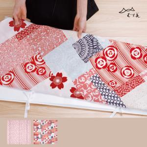 ◆スタッフより 晴れ着など、ハレの日の着物をつつむ時に使える風呂敷です。 たとう紙ごとつつめるので、...