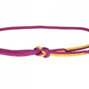 帯締め おしゃれ用 平組 赤紫 金 正絹 新品|kimonojyuan