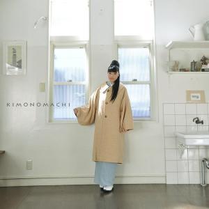 京都きもの町オリジナルの和装コートです。丁寧に作られた日本製です。和装にはもちろん、洋服にも着ていた...