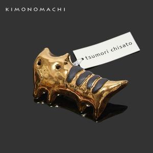 ツモリチサト帯留め「トラ猫」tsumori chisato 洒落小物 和装小物|kimonomachi
