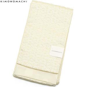 京都きもの町オリジナル浴衣帯単品「ホワイト レース」小袋帯