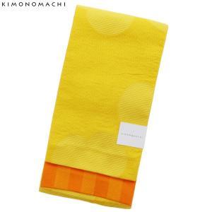 京都きもの町オリジナルの浴衣帯(半幅帯)です。結びやすい程よい柔らかさの小袋帯です。大きめのカタバミ...