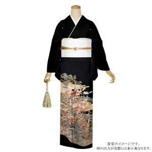 お仕立て上がり 黒留袖単品「御所解き」 紋入れ代込み 正絹着物 留袖|kimonomachi