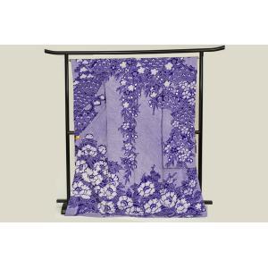 藤娘きぬたや 総絞り逸品振袖 伝統手工芸の極み 紫|kimonotanaka