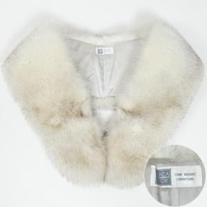 「SAGA FOX」のフォックスファー防寒用ショールです。  ◆おすすめ年代:特になし ◆素材:フォ...
