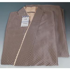 二部式着物 小紋 紬風 (3) フリーサイズ 新品 シックな二部式着物 二部式着物 洗える 着物 和装 普段着 仕事着 制服 和服 作務衣 二部式 着物 冬 きもの 袷|kimonotenyou
