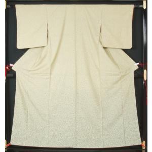 洒落訪問着 蒔き糊模様   リサイクル訪問着   リサイクル着物  きもの天陽 きものてんよう kimonotenyou