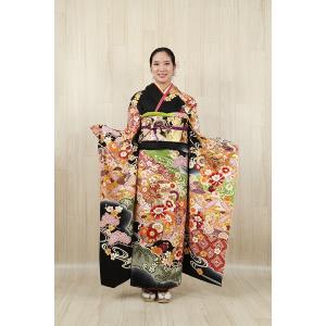 振袖セット 成人式 お誂え仕立付 正絹京友禅振袖フルセット|kimonowashou