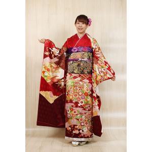 振袖セット 成人式 吉澤友禅  お誂え仕立付 振袖フルセット|kimonowashou