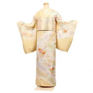 訪問着 正絹 手描き京友禅 お仕立て済み 単品|kimonowashou
