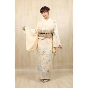 正絹 手描き京友禅 訪問着 お誂え仕立て付|kimonowashou
