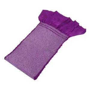 振袖用 正絹帯揚げ | 紫|kimonowashou
