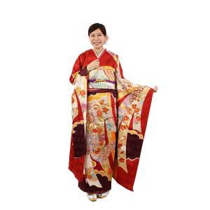 振袖セット 成人式 お誂え仕立付 正絹手描き京友禅振袖フルセット|kimonowashou