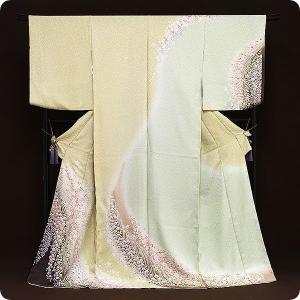 正絹京友禅訪問着 お誂え仕立て付|kimonowashou