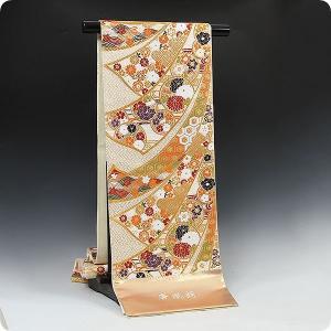 西陣正絹袋帯織 ふくい謹製 最高級 唐織錦 振袖セットでお選びの場合50,000円の差額になります|kimonowashou