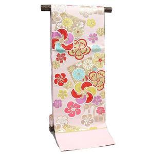 袋帯 振袖用 正絹 西陣織【大光謹製 ピンク 梅/桜/源氏香】|kimonowashou