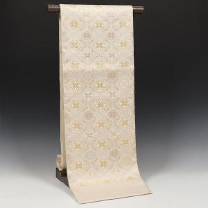 正絹袋帯 正倉院小葵文様 長尺|kimonowashou