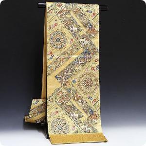 袋帯 壱阡八百織 美しいキモノ掲載柄 欧宮の美・欧宮壁画文|kimonowashou