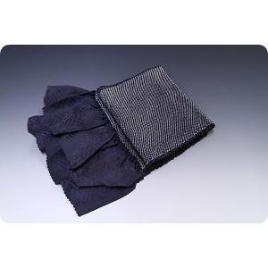 正絹総絞り帯揚げ | 黒|kimonowashou