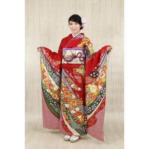 振袖セット 成人式 お誂え仕立付 正絹手刺繍京友禅振袖フルセット|kimonowashou