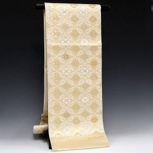 正絹袋帯 正倉院小葵文様|kimonowashou