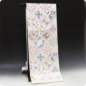 正絹西陣織唐織袋帯 【吉祥御印文】|kimonowashou