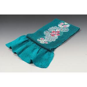 正絹総絞り帯揚げ 刺繍入り・エバース 振袖フルセットでお選びの場合+5,000円の差額になります|kimonowashou