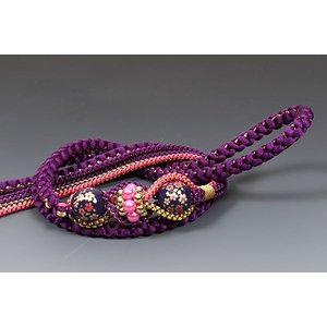 正絹帯〆  差額3,000円紫/ピンク|kimonowashou