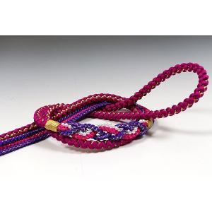 正絹帯〆赤紫/紫|kimonowashou