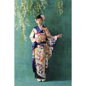 振袖セット 成人式 お誂え仕立付 正絹京友禅振袖フルセット  Bijou B165|kimonowashou