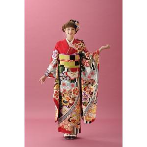 振袖セット 成人式 お誂え仕立付 正絹京友禅振袖フルセット  Bijou C367|kimonowashou