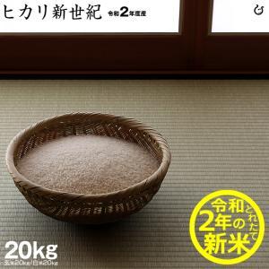 お米 ヒカリ新世紀 玄米20kg 白米20kg 平成30年 滋賀県産 2018|kimsho