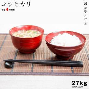 お米 コシヒカリ 玄米30kg 白米27kg 平成30年 滋賀県産 kimsho