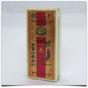 高麗人参茶(木箱/粉末状)50包入|kimuchishop