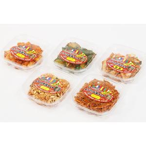 5種セット (白菜、さきイカ、豆もやし、きゅうり、大根) kimuchishop