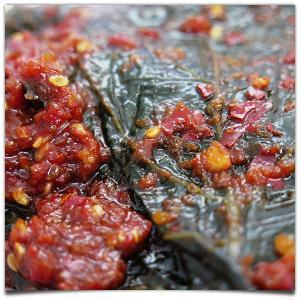 えごまの葉キムチ 130g|kimuchishop