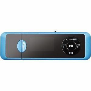 「納期約1〜2週間」グリーンハウス GHYMPD16BL MP3プレイヤー 16GB ブルー GHYMPD16BL ブルー|kimuraya-select