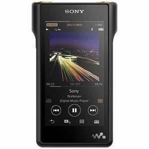 「納期約4週間」NW-WM1A-B 「代引き不可」[SONY ソニー] ハイレゾ音源対応 ウォークマン WM1シリーズ 128GB ブラック NWWM1AB|kimuraya-select